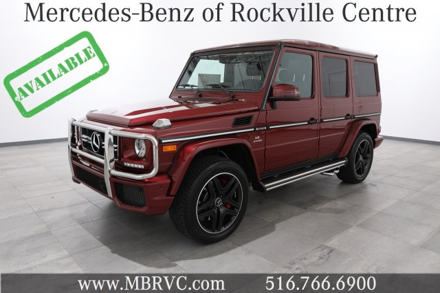 New 2018 Mercedes Benz G Class Amg G 63 Suv Suv In Rockville Centre