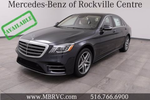 New --- 2020 Mercedes-Benz S 560 4MATIC® Sedan
