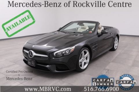 Certified Pre-Owned 2017 Mercedes-Benz SL SL 550