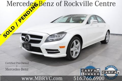 Certified Pre-Owned 2014 Mercedes-Benz CLS CLS 550 Sport